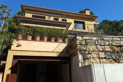 Modern house with stunning sea views and a pool in Lloret de Mar
